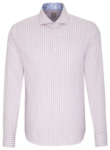 Jacques Britt Striped Smart Casual Rood