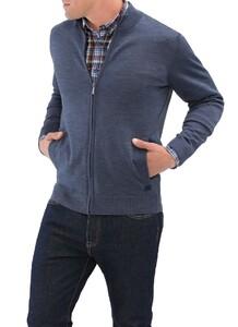 Maerz Superwash Merino Vest Nimes Blue