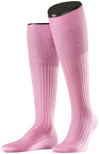 Falke No. 13 Finest Piuma Cotton Knee High Soft Pink