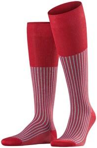 Falke Oxford Stripe Scarlet Melange