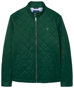 Gant The Quilted Windcheater Donker Groen