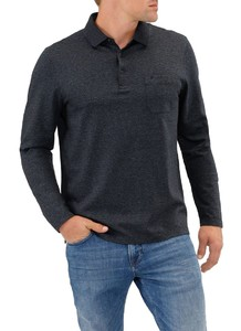 Maerz Polo Long Sleeve Antraciet