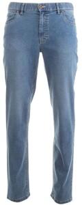 Hiltl Centodue Indigo Kirk 5-Pocket Jeans Bleached Blue