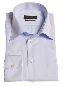 John Miller Dress-Shirt Non-Iron Licht Blauw