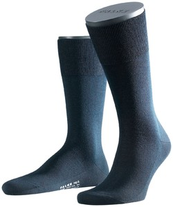 Falke No. 6 Socks Finest Merino and Silk Navy