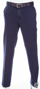 MENS Flat-Front Madrid Jeans Navy