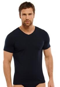 Schiesser T-Shirt Long Life Soft Dark Navy
