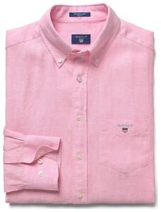 Gant Linnen Shirt Shadow Rose