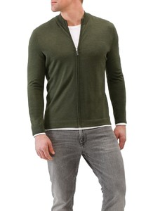 Maerz Zipper Vest Camouflage Green