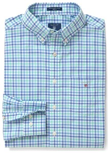 Gant The Broadcloth 3 Color Gingham Spearmint