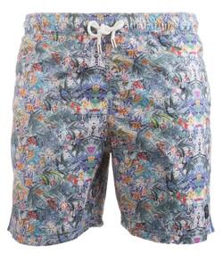 Paul & Shark Forrest Fantasy Shorts Blauw