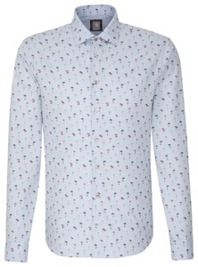 Jacques Britt Smart Casual Fantasy Blauw