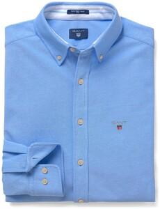 Gant Tech Prep Piqué Shirt Capri Blue