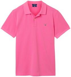 Gant Gant Piqué Polo Lipstick Pink