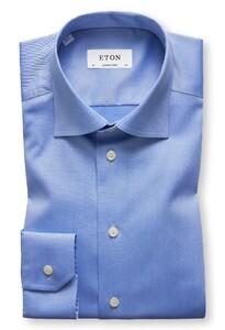 Eton Uni Cutaway Signature Twill Pastel Blauw