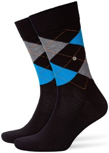Burlington King Socks Zwart