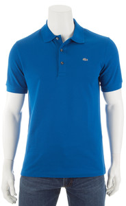 Lacoste Stretch Slim-Fit Polo Kobalt Blauw