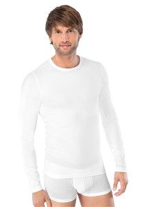 Schiesser 95-5 T-Shirt Lange Mouw White