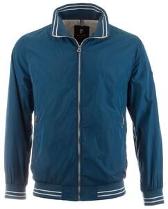 Pierre Cardin Sports Contrast Short Jacket Petrol