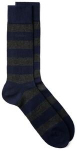 Gant Barstripe Socks Houtskool Grijs