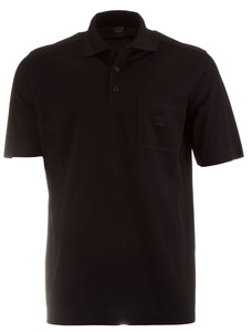 Paul & Shark Basic Breast Pocket Polo Zwart