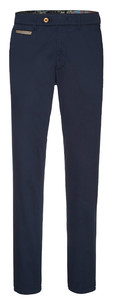 Gardeur Benny-3 Contrasted Pima Cotton Flex Navy