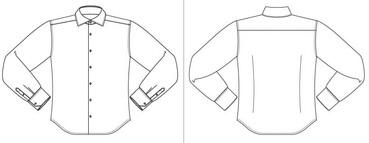 Maattabel John Miller Mouwlengte 5 Tailored Fit