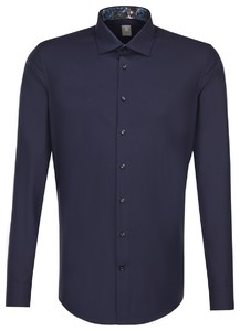 Jacques Britt Uni Business Mouwlengte 7 Navy