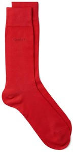 Gant Soft Cotton Socks Rood