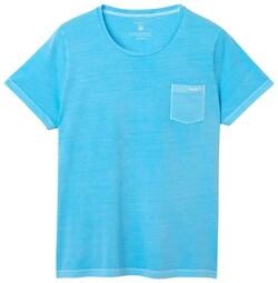 Gant Sunbleached T-Shirt Topaas Blauw