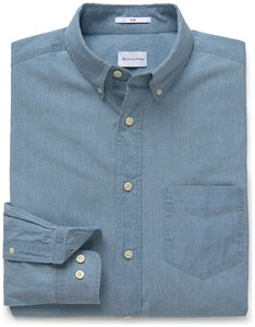 Gant Indigo Chambray Light Indigo