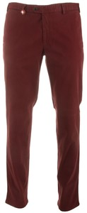 Hiltl Smooth Sensation Chino Donker Rood