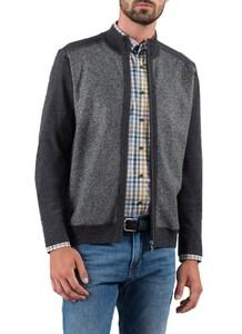 Maerz Zipper Merino Vest Grey Shadow