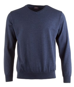 Paul & Shark Three in One Cool Touch Wool V-Neck Rafblauw