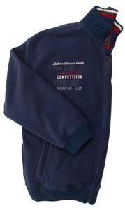 Paul & Shark Competition Winter Cup Fleece Vest Midden Blauw