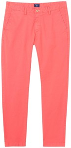 Gant Slim Summer Chino Strong Coral