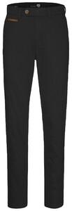 Gardeur Benny-3 Cashmere Cotton Flat-Front Black