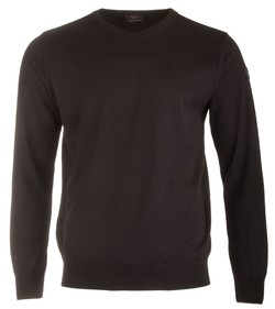 Paul & Shark Basic Merino Extra Fine Zwart