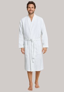 Schiesser Selected! Premium Uni Badjas Wit