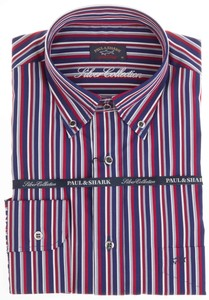 Paul & Shark Silver Collection Stripe Rood
