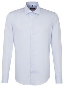 Seidensticker Uni Spread Kent Aqua Blue