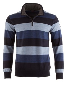 Paul & Shark Three-In-One Blue Stripe Blauw