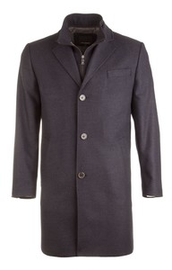 Roy Robson Fine Structured Fashion Coat Navy