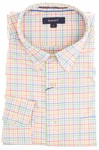 Gant Bel Air Pinpoint Oxford Check Multicolor