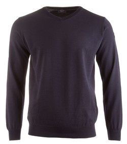 Paul & Shark Three in One Cool Touch Wool V-Neck Navy