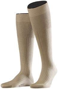 Falke No. 13 Finest Piuma Cotton Knee High Zand