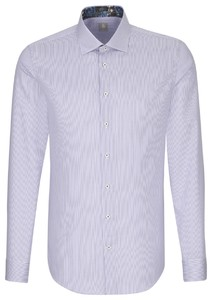 Jacques Britt Striped Contrast Lila