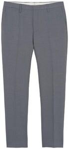 Gant Tailored Slim Club Pants Dark Grey Melange