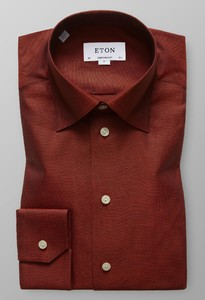 Eton Oxford Button Under Roodroze