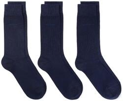 Gant Soft Cotton Socks 3Pack Navy